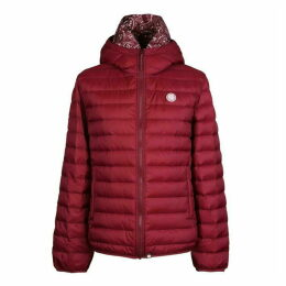 Pretty Green Lightweight Quilted Hooded Jacket