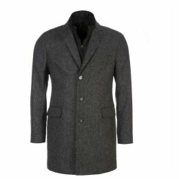 Eden Park Coat With Gilet Detailing
