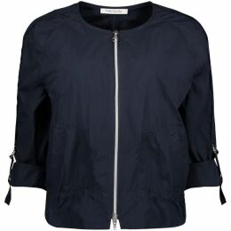 Betty Barclay Unlined Jacket With Two-Way Zip