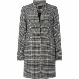 Label Lab ANITA CHECK NOTCH FRONT COAT