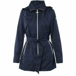 Carolina Cavour Ladies Spring Twill Bow Belted Jacket