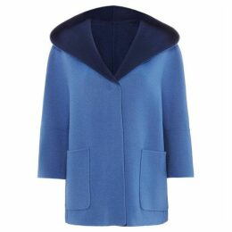Max Mara Weekend Hooded Wool Coat