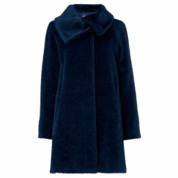 Max Mara Studio Button neck short coat