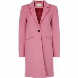Gant Long Line Button Tailored Coat