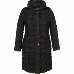 Chesca Mini Bonfire Trim three quarter Length Coat