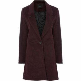 Maison Scotch Wool checked coat
