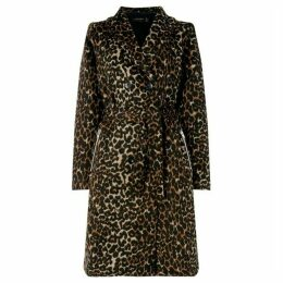 Religion Impulse leopard coat