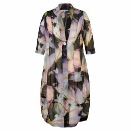 Chesca Printed Chiffon Coat