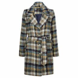 James Lakeland Check Pippa Belted Coat