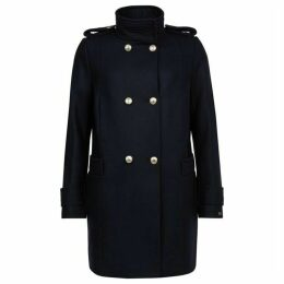 Tommy Hilfiger Belle Funnel Wool Coat