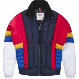 Tommy Jeans Colourblock Puffa Jacket
