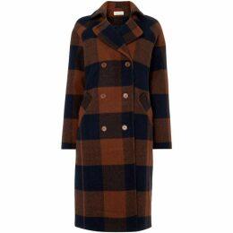 Maison De Nimes Check Coat