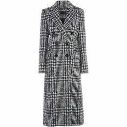Karen Millen Tailored Check Coat