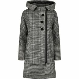 James Lakeland Check Hooded Coat
