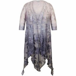 Chesca Ombre Devoree Pixie Coat