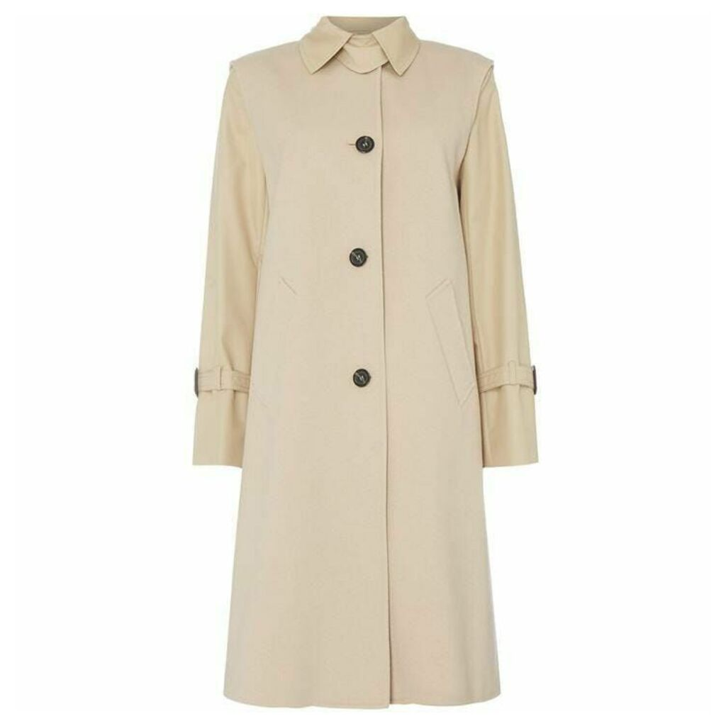 Max Mara Weekend Lux single breast long coat