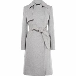 Karen Millen Belted Tailored Coat