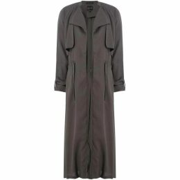 Label Lab Wynn tie waist duster coat