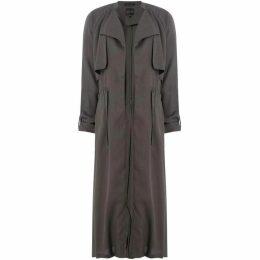 Label Lab Wynn tie waist duster coat
