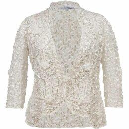 Chesca Lace jacket with cornelli trim