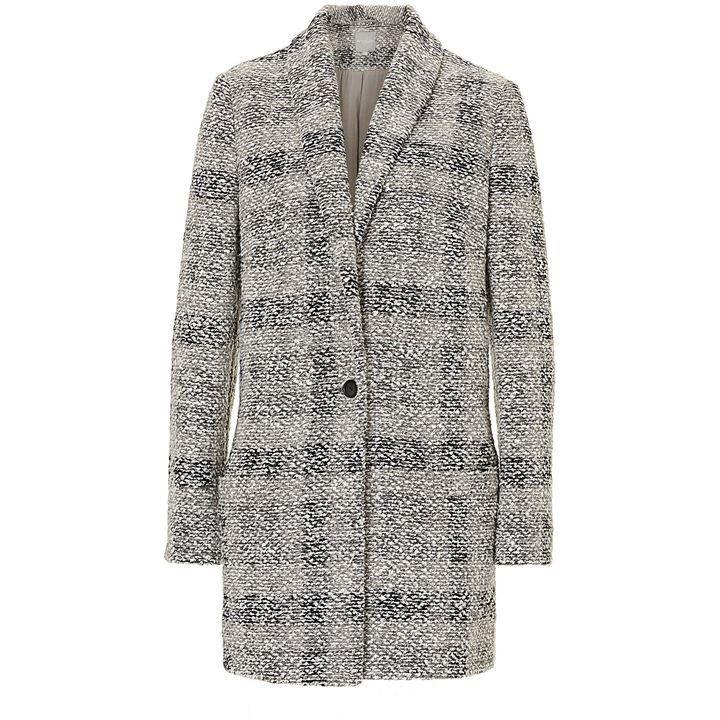 Betty Barclay Tweed cocoon coat