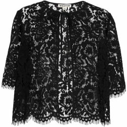 Whistles Lace Scallop Edge Jacket