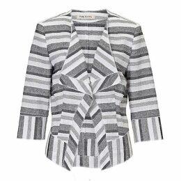 Betty Barclay Textured stripe jacket