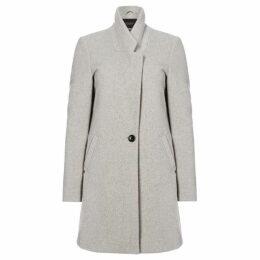 Maison Scotch Bonded wool coat