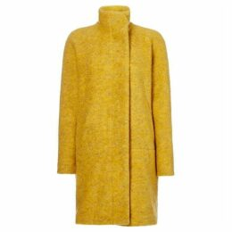 Samsoe and Samsoe Longsleeve wool coat with button front