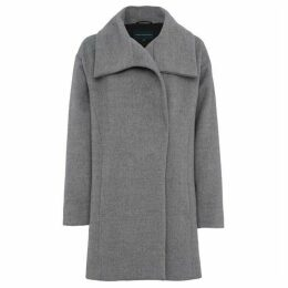 French Connection Bennie Wool Wide Collar Coat