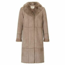 Betty Barclay Faux Sheepskin Coat