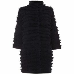 Phase Eight Filippa Fringe Knit Coat