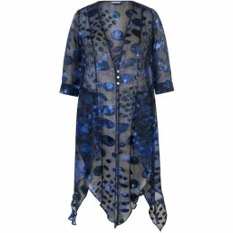 Chesca Abstract Oval Spot Pixie Coat