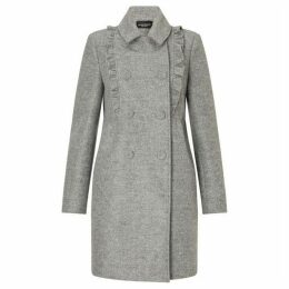 James Lakeland Ruffle Front Coat