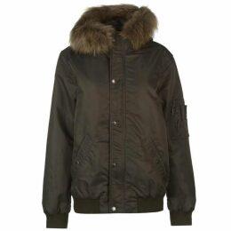 Criminal Asher Cropped Parka Jacket