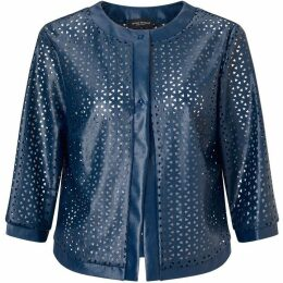 James Lakeland Openwork Eco Leather Jacket