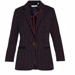 Ted Baker Lehh Cbn Striped Blazer