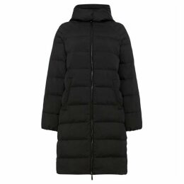Armani Exchange Long Line Hooded Puffer Coat