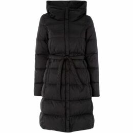 Max Mara Weekend Long hooded quilted jacket