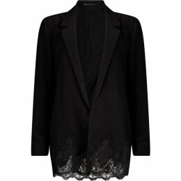 All Saints Aleida Lace Blazer