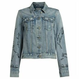 All Saints Graff Hay Denim Jacket