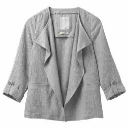 White Stuff Crinkle Linen Blazer