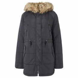 Replay Parka Furry Hood
