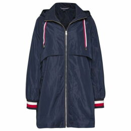 Tommy Hilfiger Navy Cory Long Parka