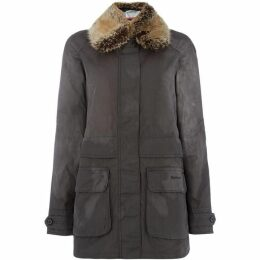 Barbour Lifestyle Exclusive Banavie Wax Coat With Detachable Collar