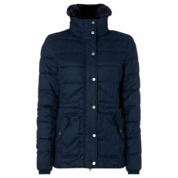 Barbour Lifestyle Langstone Zag Quilted Coat