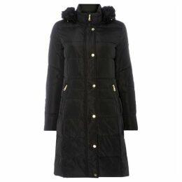 Lauren by Ralph Lauren Hooded quilted jacket