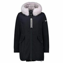 Betty Barclay Crossover Down Lined Parka With Hood