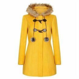 Yumi Faux Fur Duffle Coat