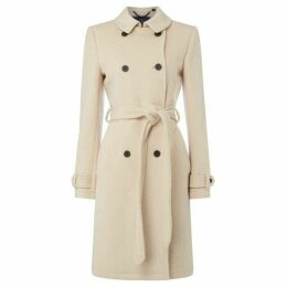 Jack Wills Atwater Wool Blend Trench Coat